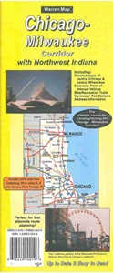 Picture of Chicago-Milwaukee I-94 Corridor Folded Road Map