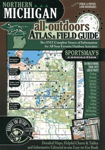 Picture of Michigan (Northern) All-Outdoors Atlas & Field Guide