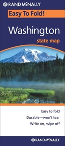 Picture of Washington Easy to Fold State Map
