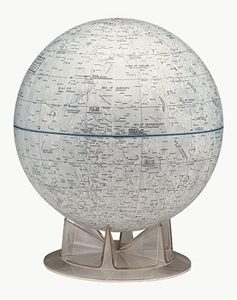 """Picture of Moon 12"""" Globe"""