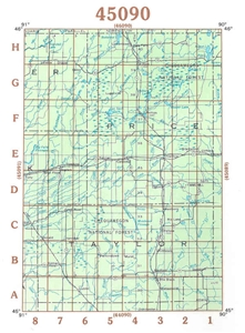 Picture of 45090 - Wisconsin Topographic Maps
