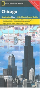 Picture of Chicago Folded City Map & Travel Guide