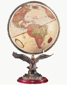 """Picture of Freedom 12"""" World Globe"""