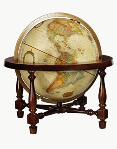 """Picture of Colonial 12"""" World Globe"""