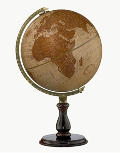 """Picture of Leather Expedition 12"""" World Globe"""