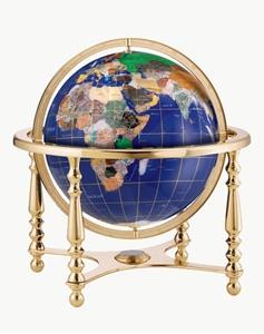 "Picture of Compass Jewel 13"" World Globe"