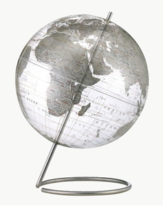 """Picture of Crystal Marquise 12"""" World Globe"""