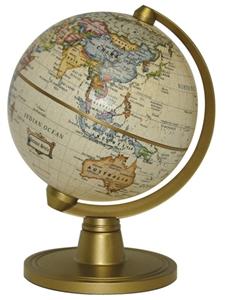"Picture of Hemispheres 4"" Classic Antique Style Miniglobe"