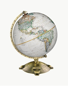 """Picture of Allanson 12"""" National Geographic World Globe"""