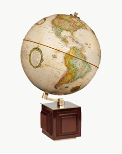 """Picture of Four Square I 12"""" World Globe"""