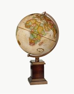 "Picture of Glencoe 12"" World Globe"