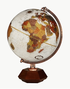 """Picture of Hexhedra 12"""" World Globe"""