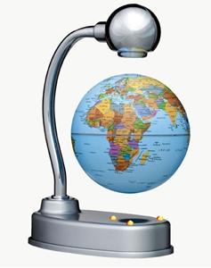 "Picture of Levitating 3.5"" World Globe"