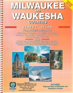Picture of Milwaukee County & Waukesha County Street Atlas (2016 Edition)