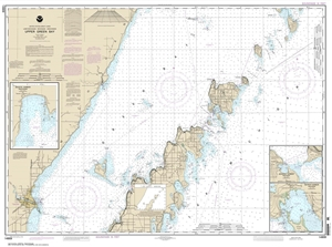 Picture of 14909 - Upper Green Bay Nautical Chart