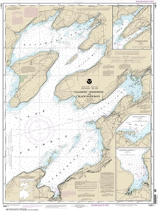 Picture of 14811 - Chaumont, Henderson And Black River Bays Nautical Chart