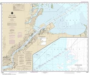 Picture of 14847 - Toledo Harbor Nautical Chart