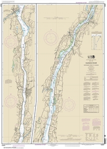 Picture of 12347 - Hudson River - Wappinger Creek To Hudson Nautical Chart