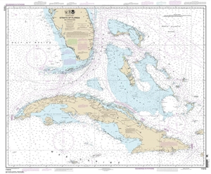 Picture of 11013 - Straits of Florida And Approaches Nautical Chart