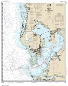 Picture of 11412 - Tampa Bay And St. Joseph Sound Nautical Chart