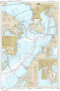 Picture of 11416 - Tampa Bay Nautical Chart