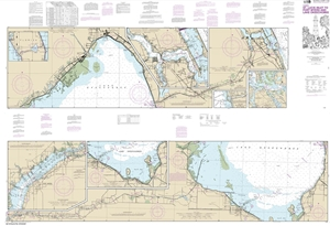 Picture of 11428 - Okeechobee Waterway - St. Lucie Inlet To Fort Myers Nautical Chart