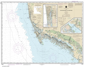 Picture of 11429 - Chatham River To Clam Pass Nautical Chart