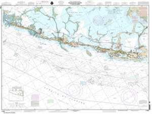Picture of 11464 - Intracoastal Waterway - Blackwater Sound To Matecumbe Nautical Chart