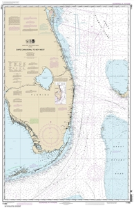 Picture of 11460 - Cape Canaveral To Key West Nautical Chart