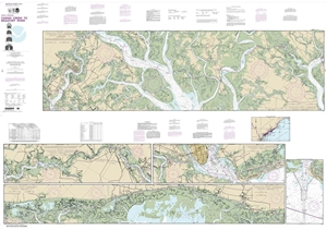 Picture of 11518 - Intracoastal Waterway - Casino Creek To Beaufort River Nautical Chart