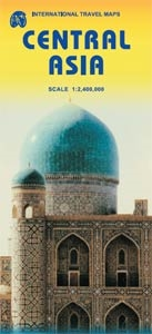 Picture of International Travel Maps - Central Asia Travel Map
