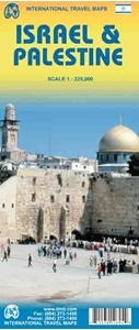 Picture of International Travel Maps - Israel & Palestine
