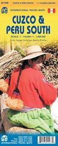 Picture of International Travel Maps - Cuzco & Peru South