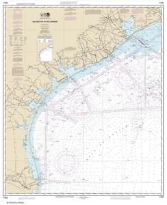 Picture of 11300 - Galveston To Rio Grande Nautical Chart