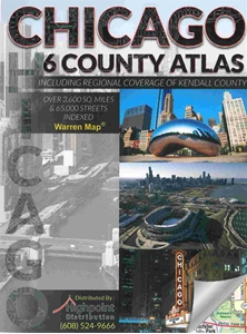 Picture of Chicago 6 County Street Atlas (2015 Edition)