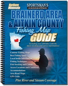 Picture of Northern Minnesota Brainerd Area & Aitkin County Fishing Map Guide