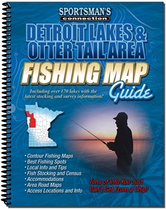 Picture of Detroit Lakes & Otter Tail Area Minnesota Fishing Map Guide