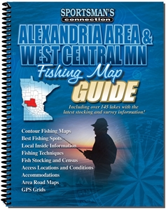 Picture of Alexandria Area & West Central Minnesota Fishing Map Guide