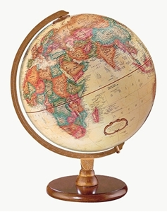 """Picture of Hastings 12"""" World Globe - French Text"""