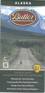 Picture of Alaska Motorcycle Map