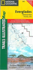 Picture of Everglades National Park Trail Map