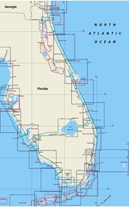 Picture of Click Here For an Easy To Read East Coast of Florida Nautical Chart Index