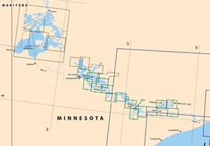 Picture of Click Here For an Easy To Read Boundary Waters Area Nautical Chart Index