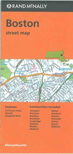 Picture of Boston, MA street map