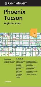 Picture of Phoenix Tucson regional map