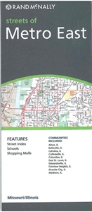 Picture of Metro East (St. Louis), IL street map