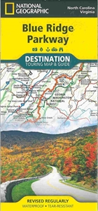 Picture of Blue Ridge Parkway Laminated Travel Map