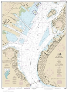 Picture of 12334 - New York Harbor - Upper Bay and Narrows - Anchorage Chart Nautical Chart