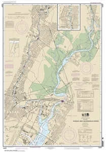 Picture of 12337 - Passaic And Hackensack Rivers Nautical Chart
