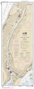 Picture of 12342 - Harlem River Nautical Chart